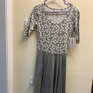 LulaRoe Nicole Dress XS New